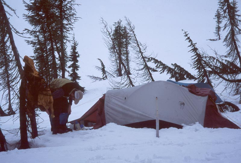 Pitching ... & Tips for Pitching Tent in Snow | Camping Tips